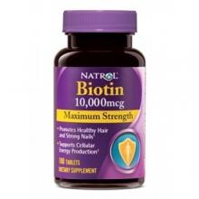 Natrol Biotin 10000 mcg 100 viên